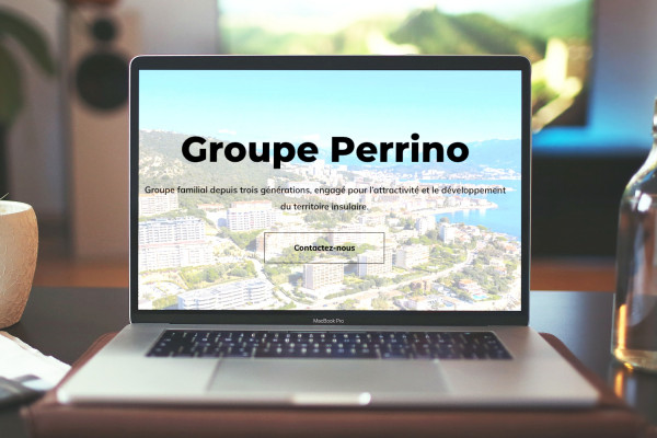 Site internet Groupe Perrino